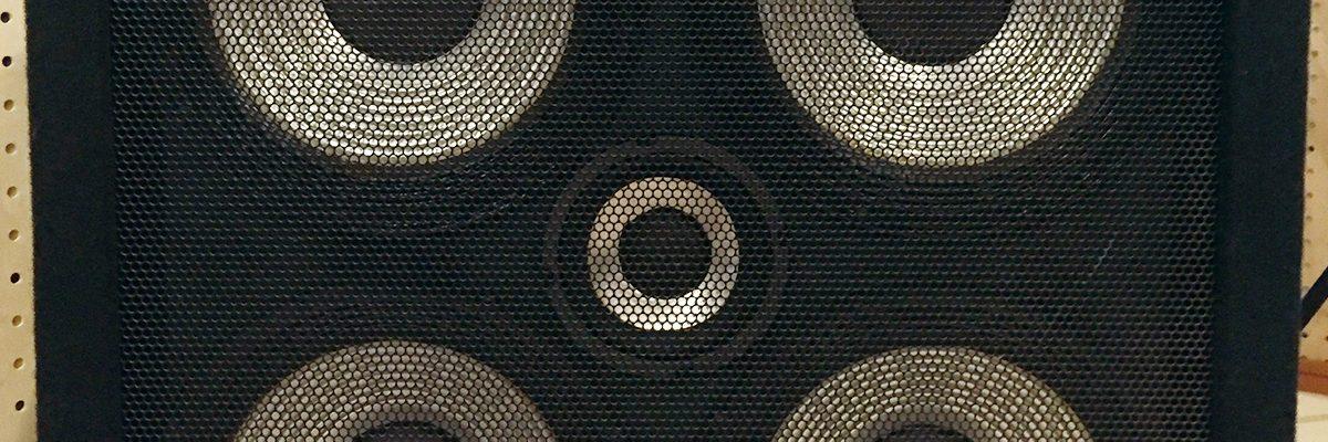 小郡市音楽スタジオ 2KOスタジオのベースアンプ