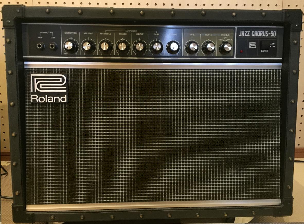 2KOスタジオのギターアンプ ジャズコーラス 小郡の音楽スタジオでそのサウンドを