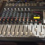 小郡市津古のスタジオ2KOスタジオのパワードミキサーPMP500